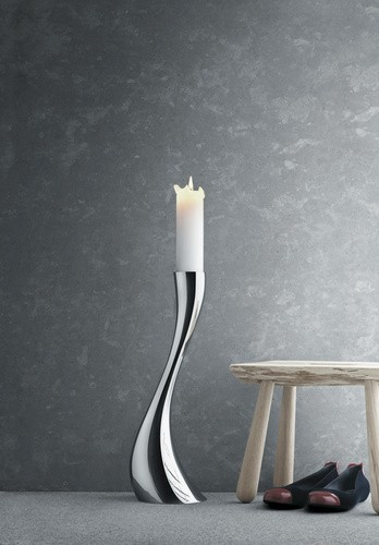 Cobra Floor Candleholder / Medium