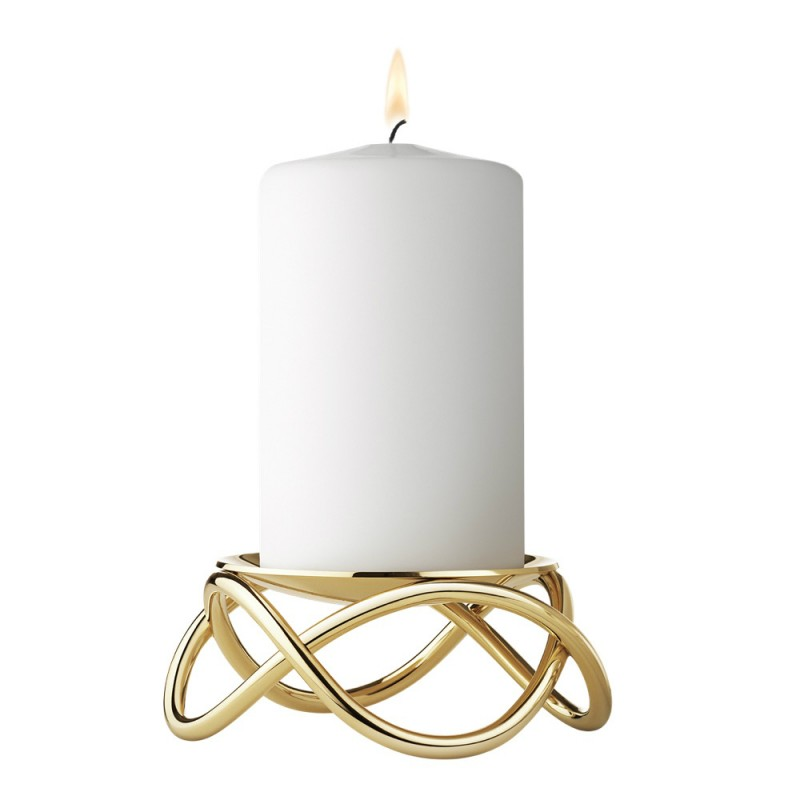 Glow Candleholder - Gold Plated, Large