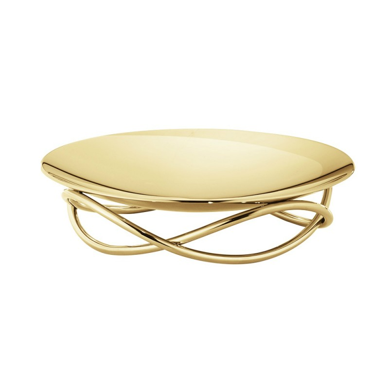 Glow Dish, Medium, Gold Plated