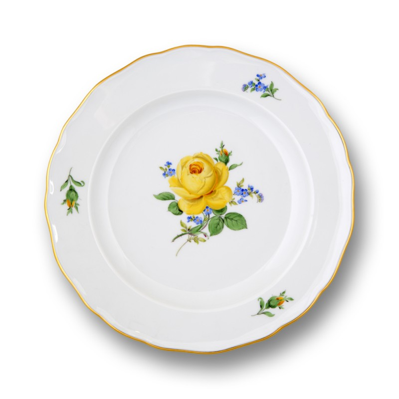 Wall plaque, Yellow Rose