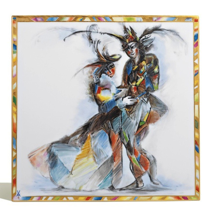 Wall Plate - Harlequins