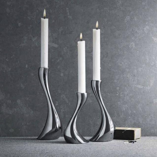 cobra candleholder georg jensen moser turkey. Black Bedroom Furniture Sets. Home Design Ideas